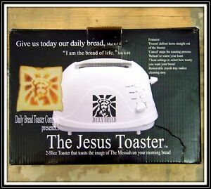 Image result for JEsus Toaster
