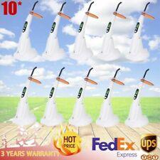 10piece 5w Dental Wireless Led B Curing Light Woodpecker Style Cure Unit Lamp