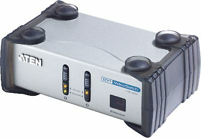 Aten 2 Porte Switch Dvi Con Supporto Audio Argento Vs261-at-g- Sconto Del 50