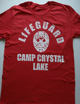 Crystal 1980 T-Shirt Boys  BlackFreitag der 13 Jason lake,
