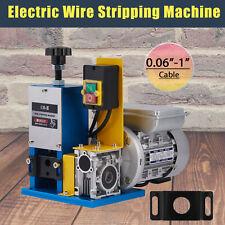 14hp Automatic Scrap Cable Stripper Electric Wire Stripping Machine Copper