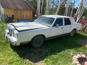 1988 and 86 Lincoln town car