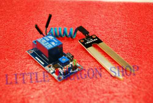 DC 12V soil humidity sensor controller module Automatic watering module A344