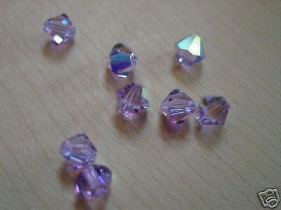 10 Swarovski ® Cristal Perles XILION Beads 6 mm violet à partir de l/'article 5328