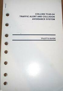 collins tcas 94 pilot s guide ebay rh ebay com