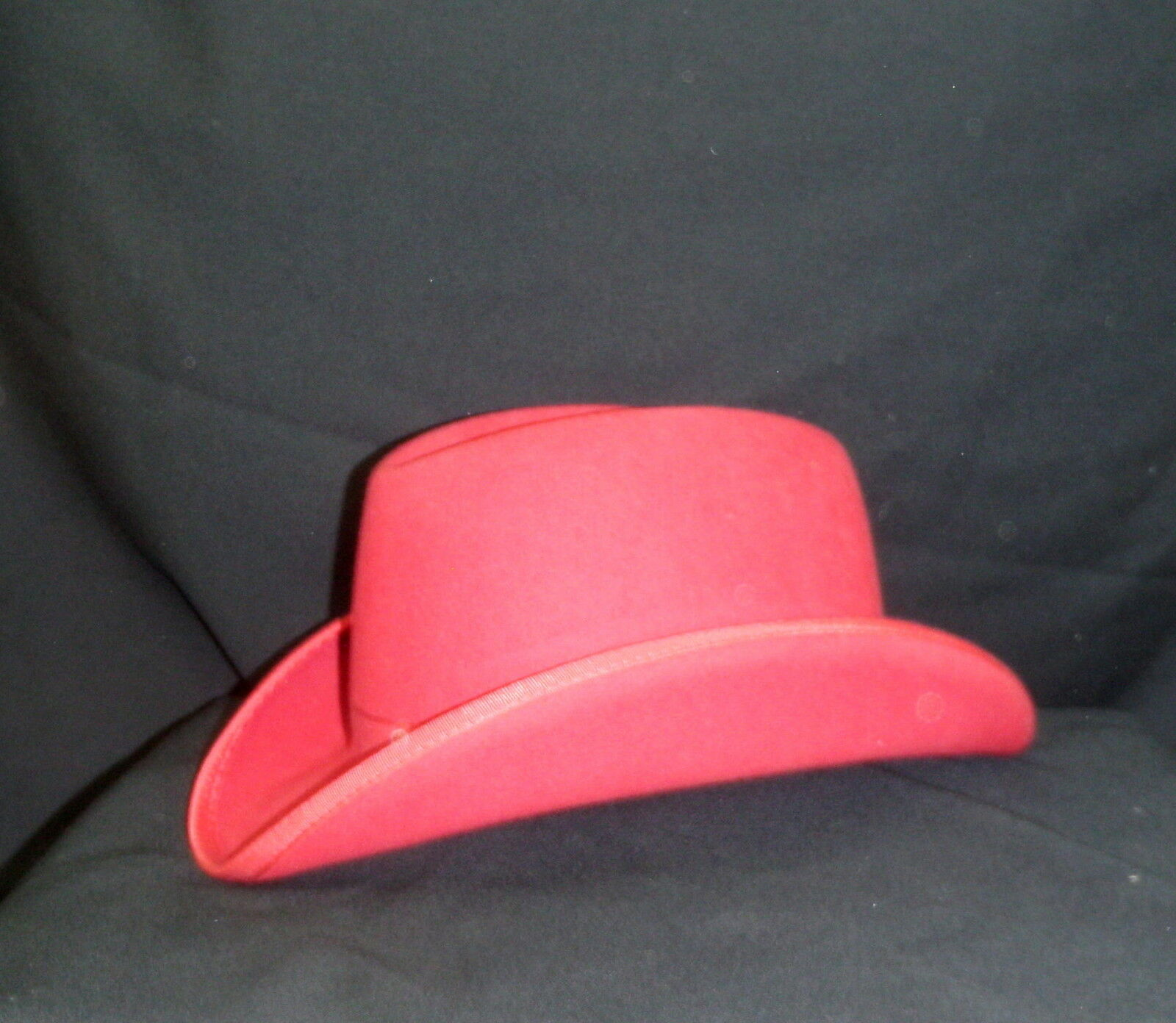 Reed Hill Saddleseat Wide Brim Homburg rosso Fur Blend 7 Made in USA