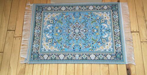 Dolls House Emporium échelle 1//12th bleu Antonio Tapis 2869 neuf *
