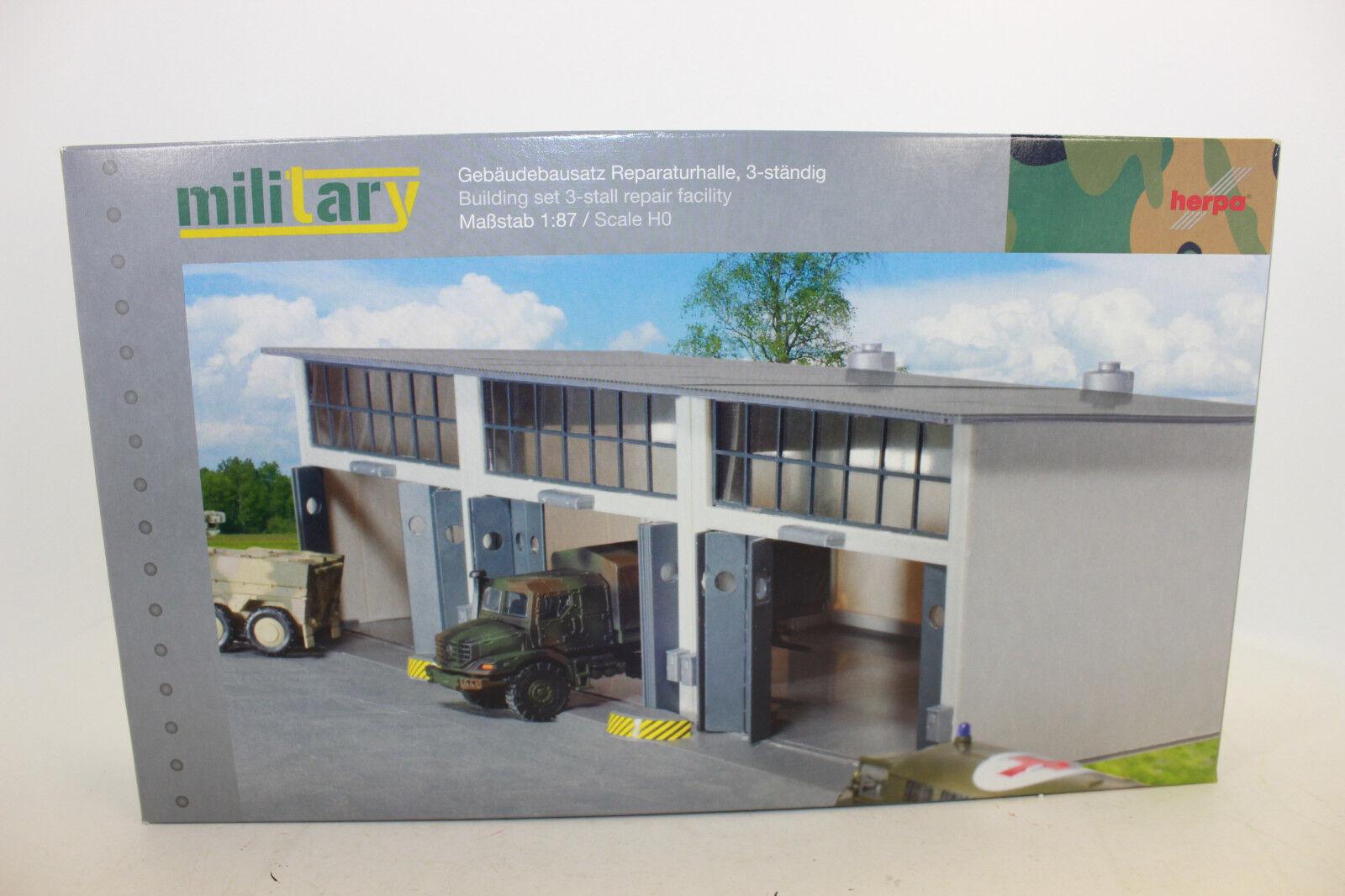 Herpa 745802 bâtiments Kit de réparation Halle pour camions's 1 87 h0 NEUF dans neuf dans sa boîte