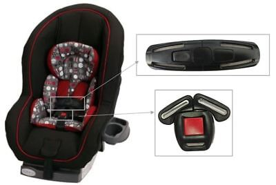 In Qualified Graco Ready Ride Convertable Toddler Child Carseat Harness Chest Clip&buckle Set Excellent Quality