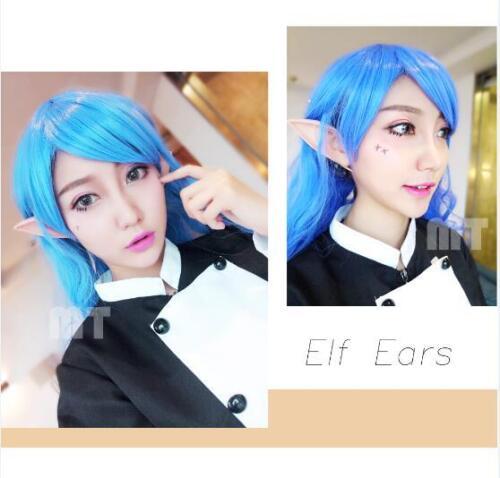 The Hobbit Latex Elf Ears Cosplay Party Props Creative Gift Halloween Costume