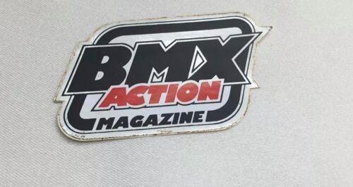 NOS OS Decal Sticker BMX ACTION MAGAZINE PK SE HUTCH RL KUWAHARA JT SUNTOUR SR