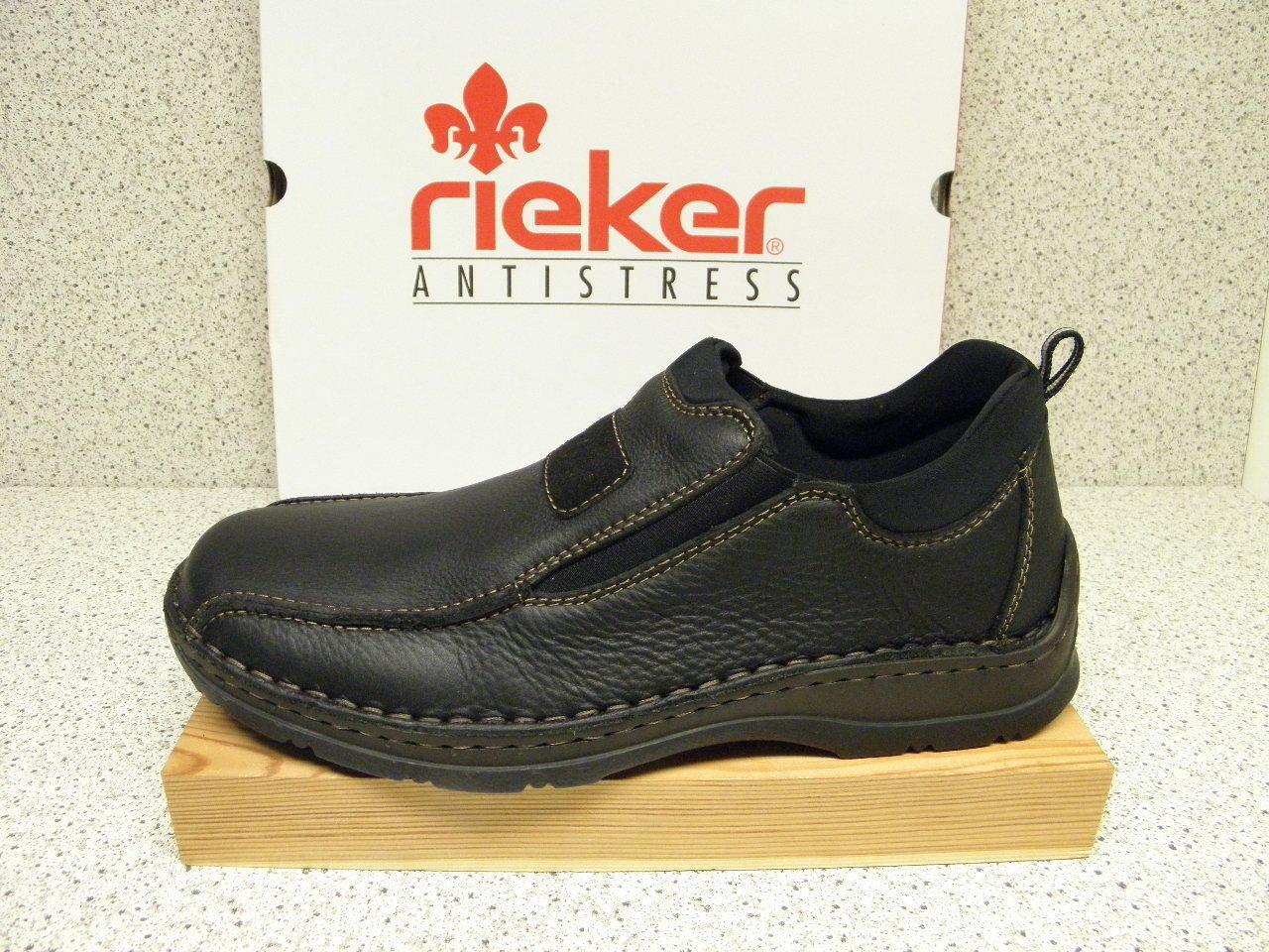 Rieker ®  bisher weit 64,95   extra weit bisher + gratis Premium - Socken  05363-00 (R285) b56356