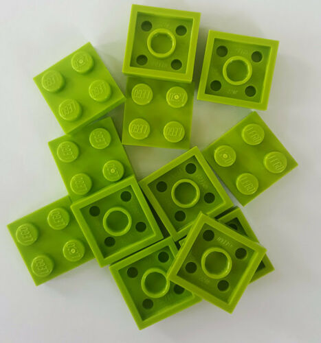 #3022 Lot of 5 NEW LEGO 2x2 Plate