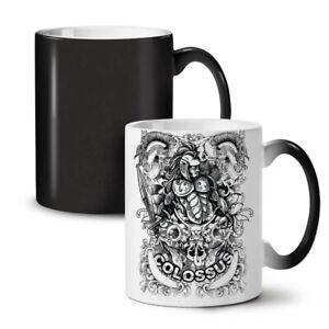 Colossus Warrior NEW Colour Changing Tea Coffee Mug 11 oz | Wellcoda