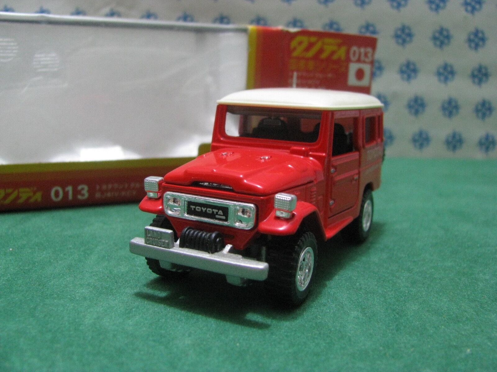 Vintage - TOYOTA LAND CRUISER 4WD - 1 43 Dandy Tomica n °013    Starke Hitze- und Abnutzungsbeständigkeit