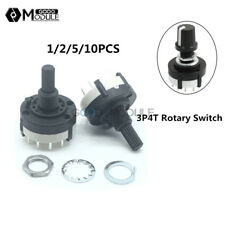 1Pcs Rotary 4 Position 3 Speeds//Way Selector Switch PB