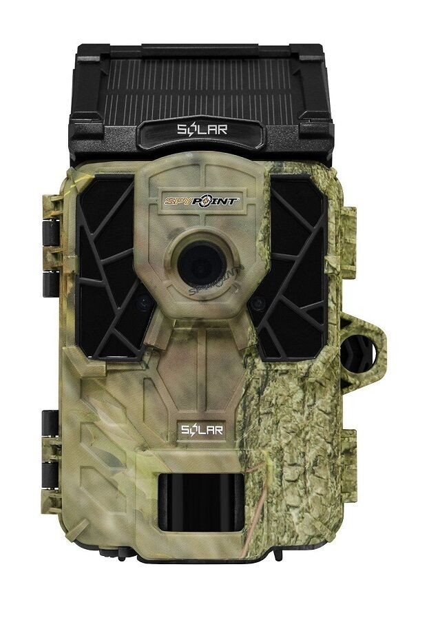 New 2018 SpyPoint Solar Low Glow Infrared 12MP Game Trail Camera Auth  Dealer