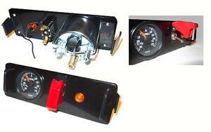 Radio slot (DIN) or center console storage custom single-gauge aluminum panel