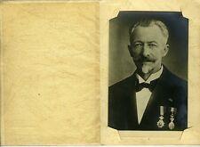 ANTWERPEN Anvers Belgique MULKENS homme médailles photo circa 1920