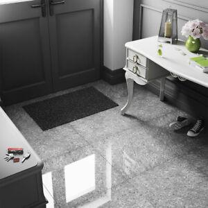 porcelain tiles 60x60 dark grey quartz high gloss wall