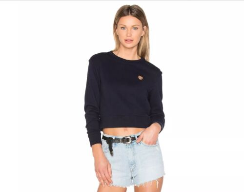 bleu Denim de détail138 KerrSweat Mother du LPrix cœurSz shirt Miranda marineouverture 80PnOkw
