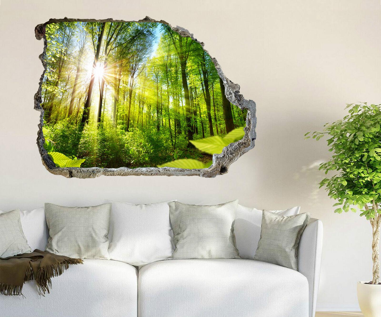 3D Sonnenschein 632 Mauer Murals Aufklebe Decal Durchbruch AJ WALLPAPER DE Lemon