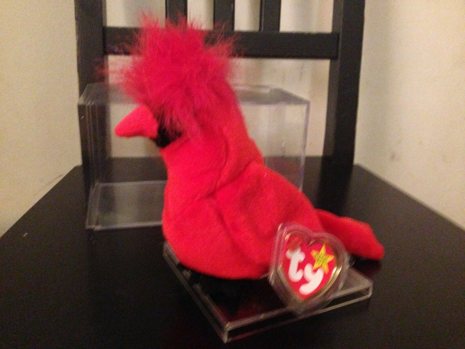 VERY RARE 4 ERRORS TY BEANIE BABY  MAC  LIMIITED EDITION NEW CONDITION