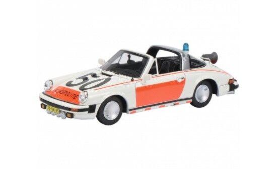Schuco Porsche 911 Targa    Rijkspolitie  - 1 43 9be52c