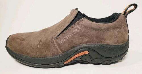 Merrell Chaussures Mocassins Femme Walking 5 Moc Lether Jungle 7 Suede Taille 77OHx