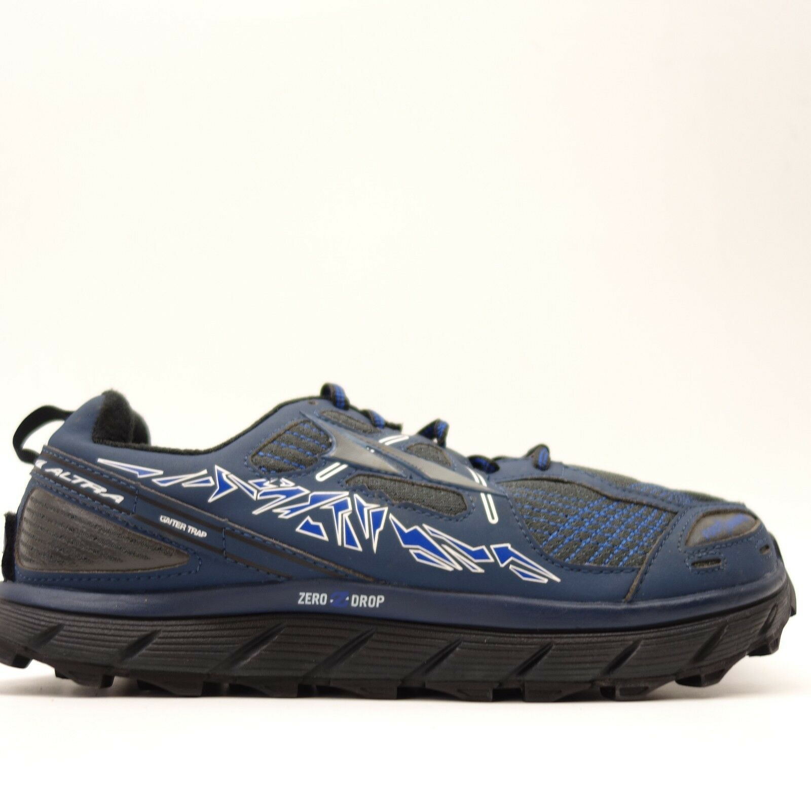 Altra Uomo Lone Peak Mesh 3.5 Blue Mesh Peak Athletic Support Trail-Running Shoes Size 8.5 36ad9e