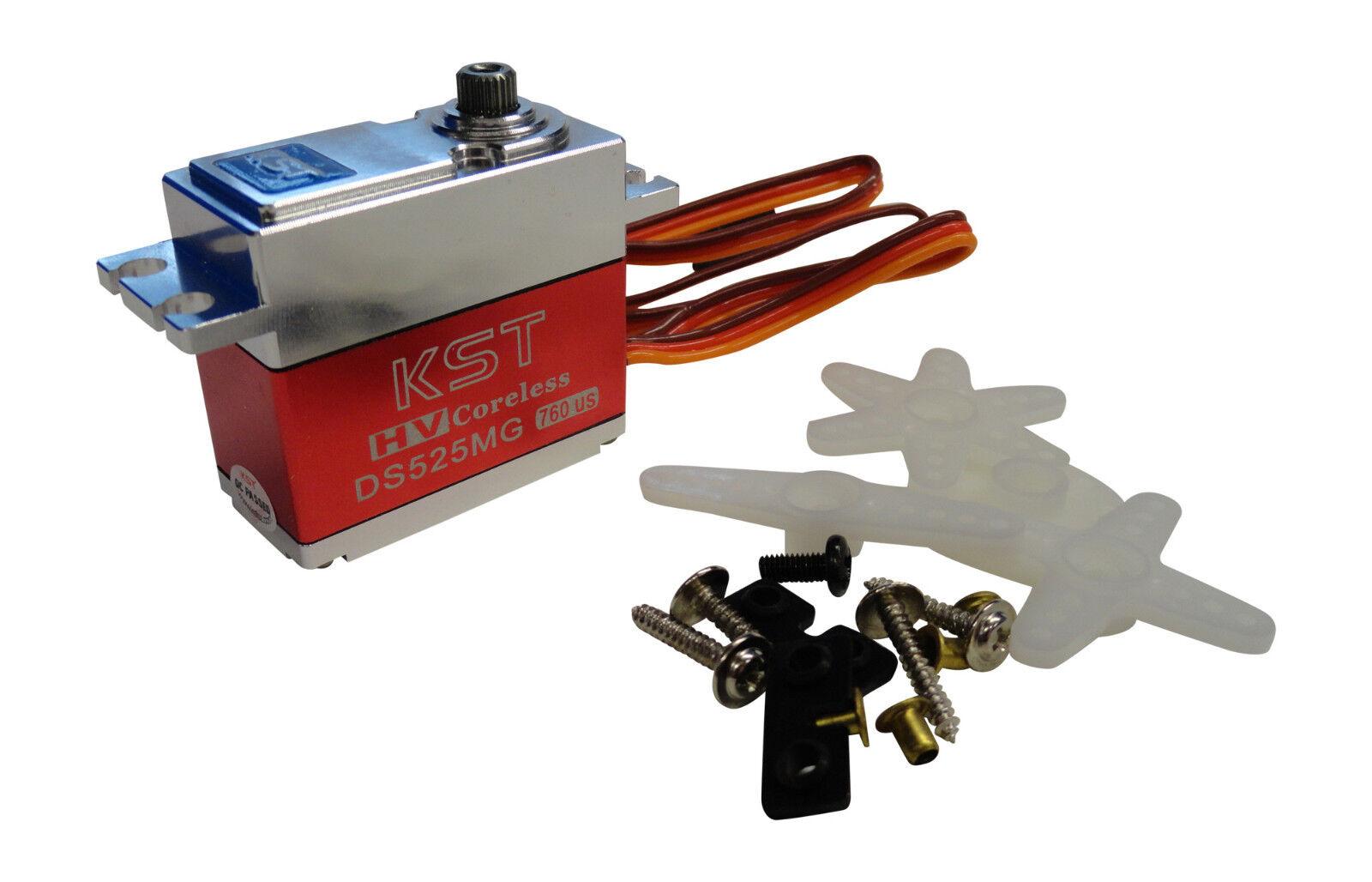 Kst DS525MG Estándar Hv Caja Metal Metal Gear Digital sin Núcleo Servo