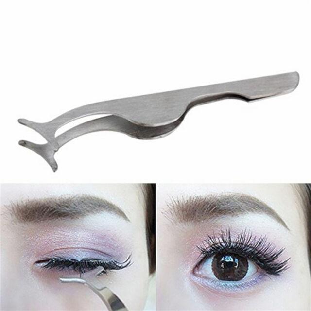 Simply Gorgeous False Eyelash Extensions Applicator Remover Tweezer Clip ToolC.B