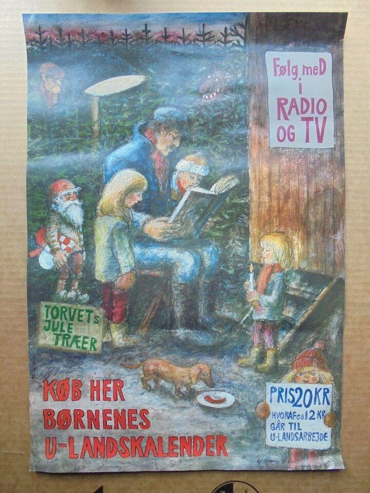 Plakater, Køb børnenes julekalender her
