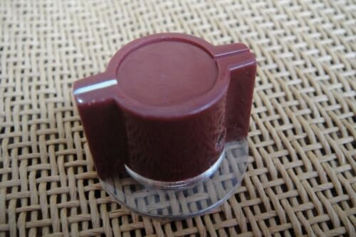 Lot Burgundy Marconi API Type Skirted Pedal Knob For Neve 1073 1080 1081 Effects