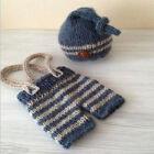 Newborn Baby Girls Boys Crochet Knit Costume Photo Photography Prop Outfits #1