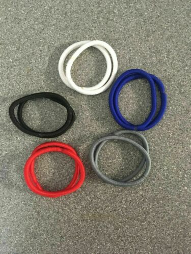 Thick snag free hair bobble bands elastic ponytail multi colour girls school #P5