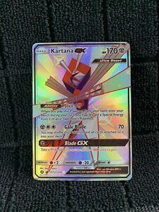 Kartana GX Shiny Ultra Rare NM Hidden Fates SV73//SV94 Pokemon TCG