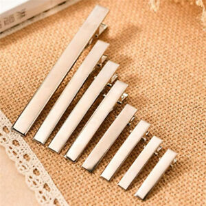 20pcs-New-Silver-Metal-Single-Prong-Alligator-Hair-Clips-Barrette-DIY-HairpiS-Js