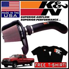 K/&N 57-3031-1 Performance Intake Kit for 01-07 Silverado//Sierra 2500HD//3500 6.0L