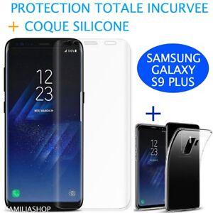 Lamina-Curvo-Integral-Total-Samsung-Galaxy-S9-PLUS-Cubierta-de-silicona