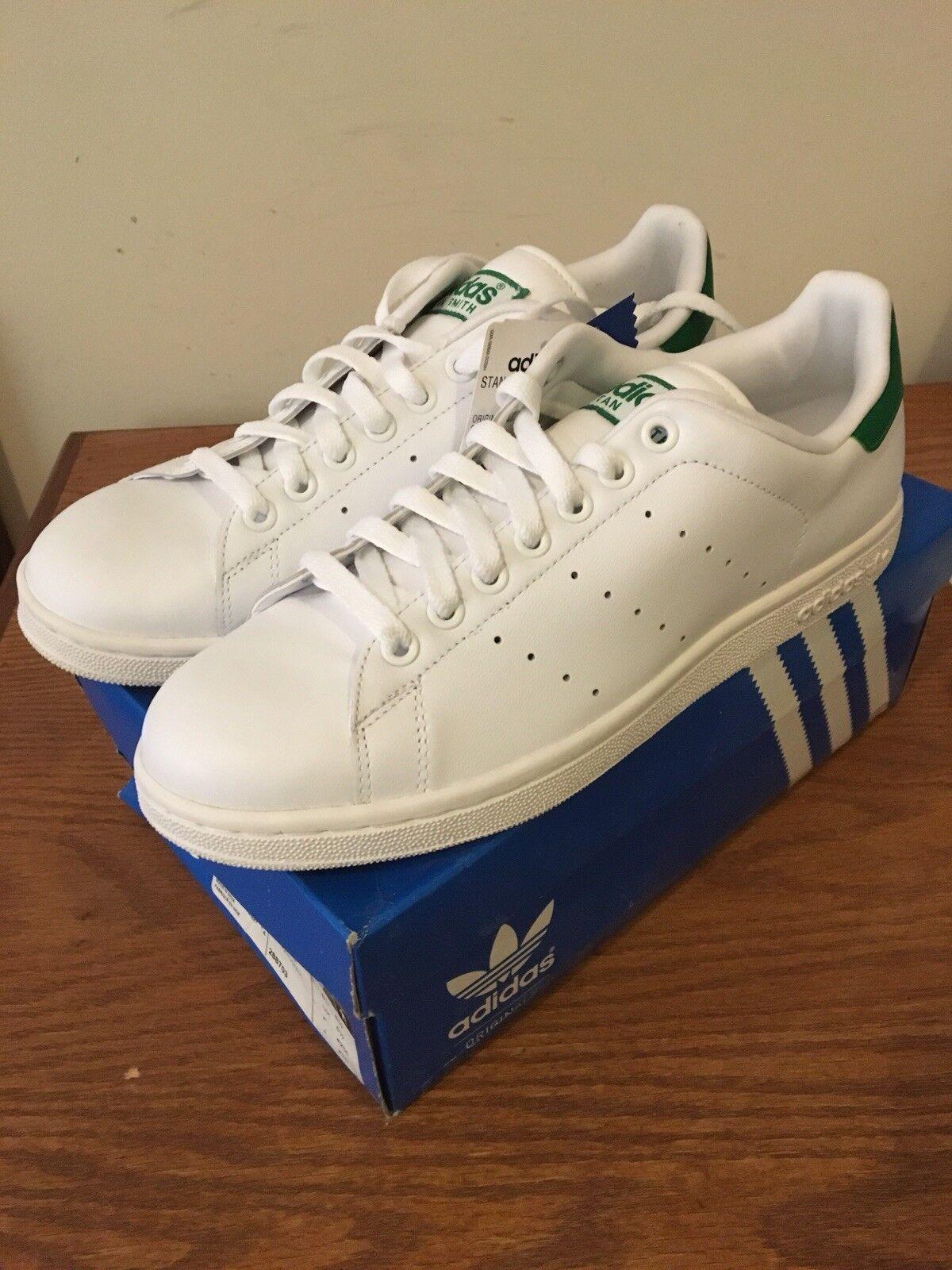 Adidas Originals Stan Smith 2 Green White Size 9 New