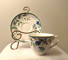 ROYAL WORCESTER C51 TEA CUP & SAUCER FINE BONE CHINA ENGLAND