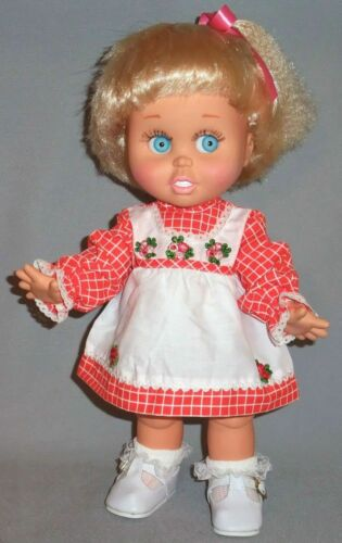 Red Checked Dress for Baby Face Galoob Dolls, BSB, Angel Face