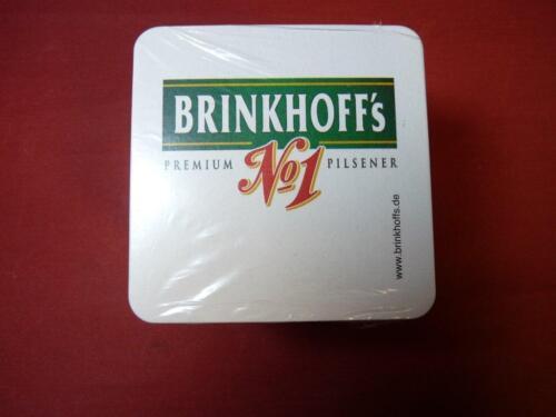 BIERDECKELl BRINKHOFFS DECKEL BIERFILZE für TRESEN BAR SCHANKTISCH GASTRO THEKE