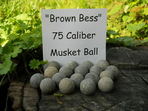 Rare-Vintage-Antique-Revolutionary-War-Relic-75-Caliber-Brown-Bess-1-Musket-Ball
