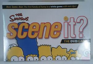 Scene-It-The-Simpsons-DELUXE-Edition-New-Factory-Sealed-DVD-Board-Game