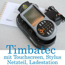 TimbaTec PDA Pocket PC Touchscreen Charger Unit Windows CE Stylus SCANNER LASER