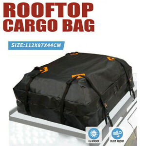 425L-Large-Car-Roof-Top-Rack-Carrier-Cargo-Bag-Luggage-Cube-Bag-Dust-proof-New