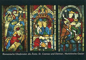 Alte-Kunstpostkarte-Marktkirche-Goslar-Die-Arzte-St-Cosmas-und-Damian
