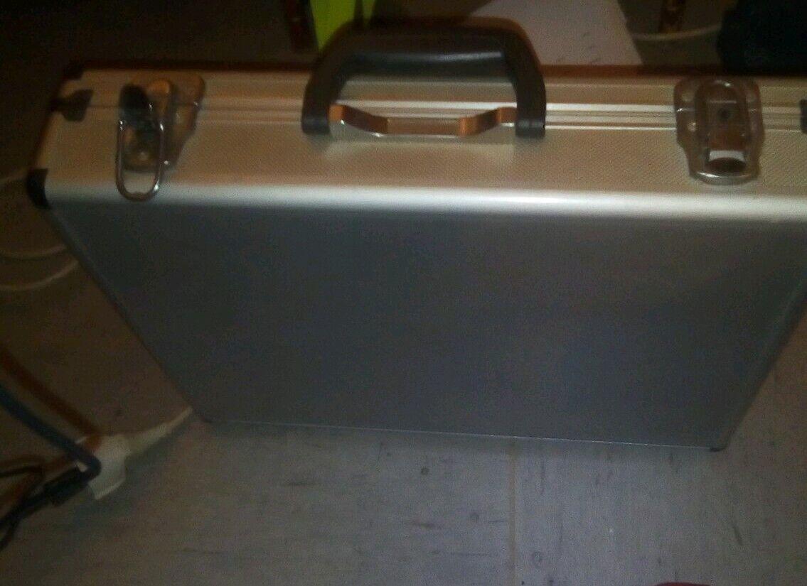Mini Aluminium Safe Koffer Aktentasche Business Kreditkarteninhaber Box Fall
